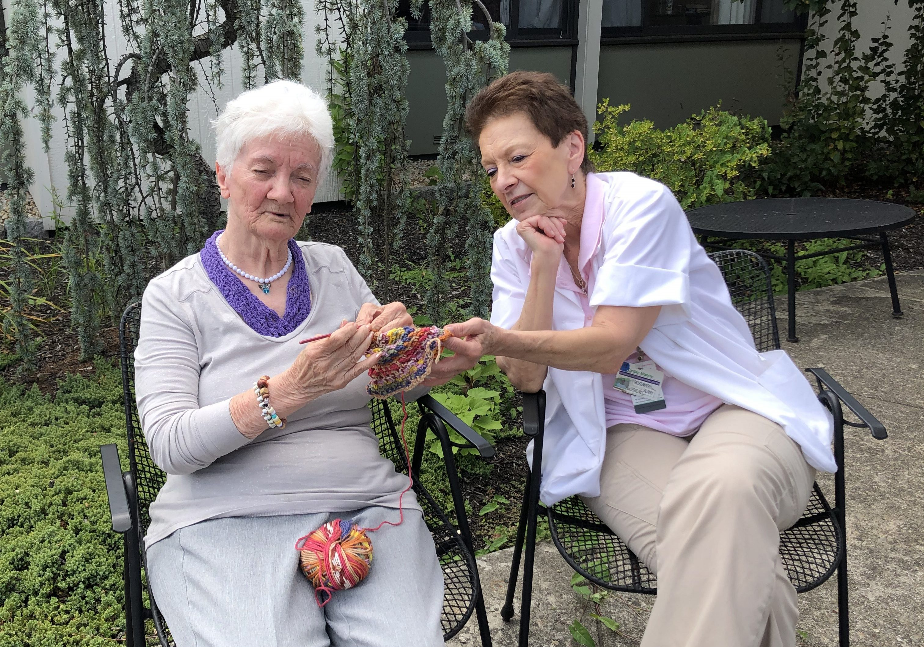 knitting ladies